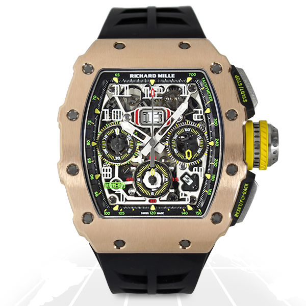 Richard Mille RM11-03 Automatic Flyback Chronograph RM11-03 RG/TI-replica