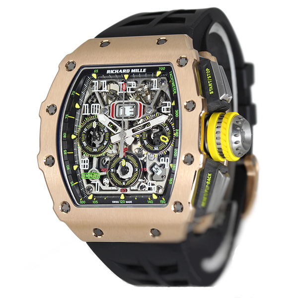 Richard Mille RM11-03 Automatic Flyback Chronograph RM11-03 RG/TI-fake