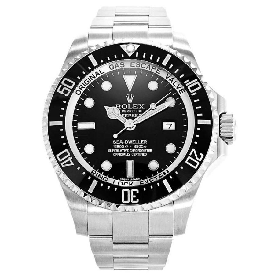 Rolex Deep Sea Black/Steel 116660 - 44 mm-replica