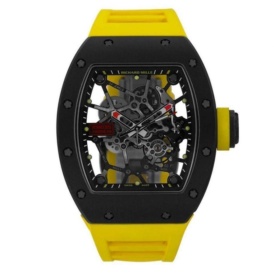 Richard Mille Rafael Nadal RM035 TZP Ceramic NTPT Carbon Watch-replica