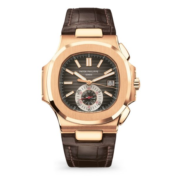 Patek Philippe Nautilus 5980R-001 Rose Gold-replica