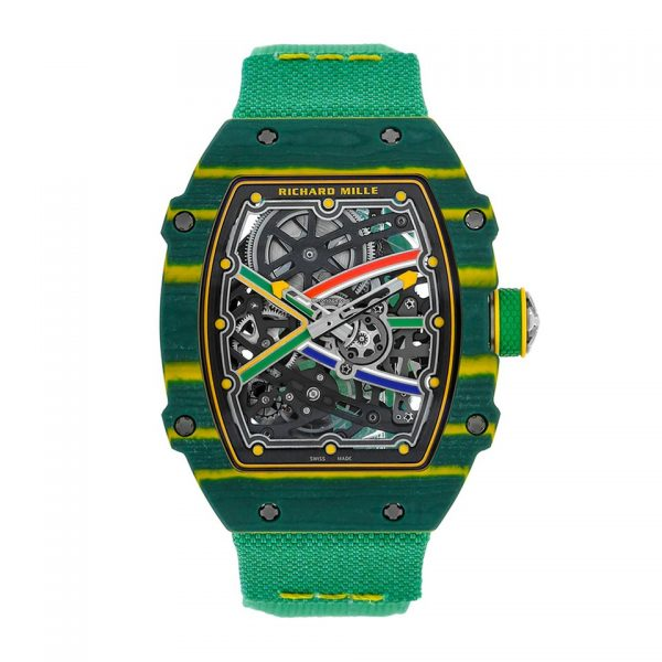 Richard Mille RM 67-02 Van Niekerk Quartz TPT Watch-replica