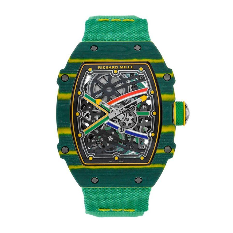 Richard Mille RM 67-02 Van Niekerk Quartz TPT Watch-replica