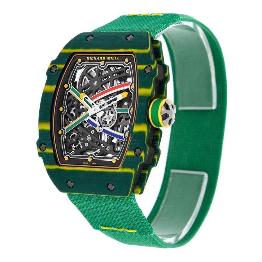 Richard Mille RM 67-02 Van Niekerk Quartz TPT Watch-fake
