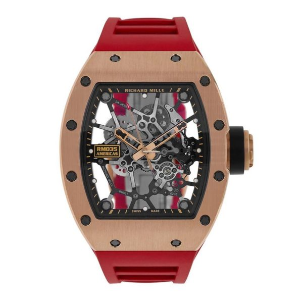 Richard Mille RM035 Rafael Nadal Rose Gold Toro Limited Edition-replica
