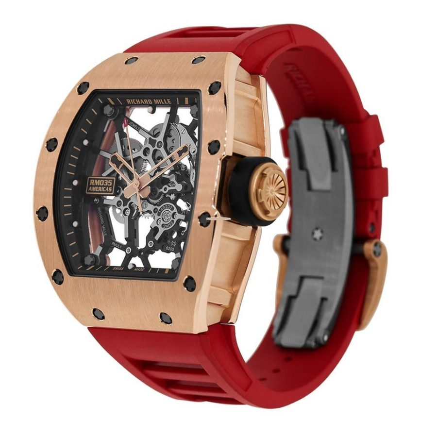 Richard Mille RM035 Rafael Nadal Rose Gold Toro Limited Edition-fake