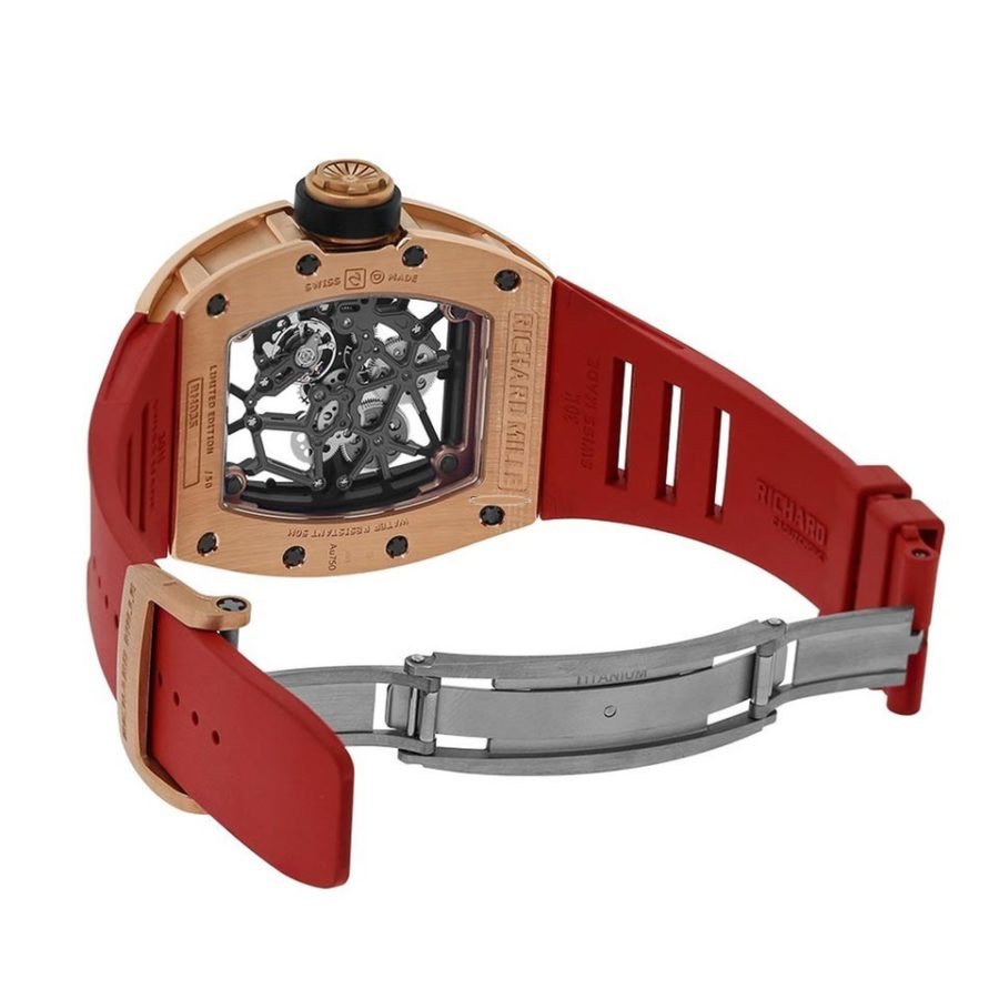 Richard Mille RM035 Rafael Nadal Rose Gold Toro Limited Edition-copy