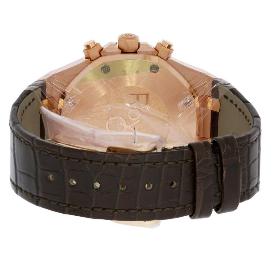 Audemars Piguet Royal Oak Chronograph Rose Gold Brown Dial - 41mm-copy