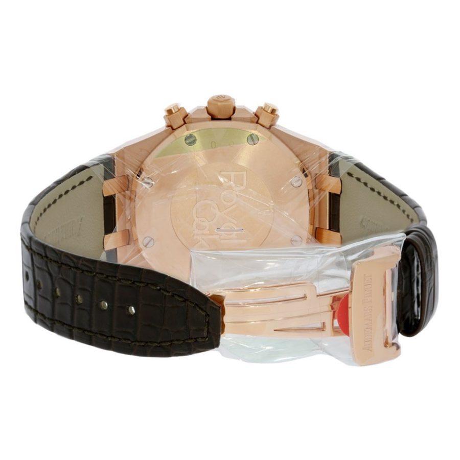 Audemars Piguet Royal Oak Chronograph Rose Gold Brown Dial - 41mm-fake