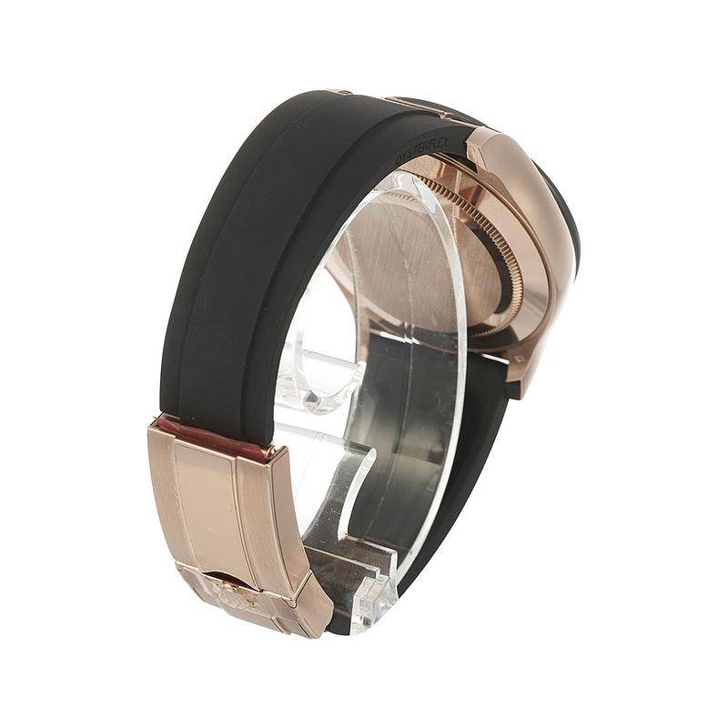 Rolex Daytona 18K Rose Gold Ceramic Oysterflex Watch 116515LN 40mm - Copy