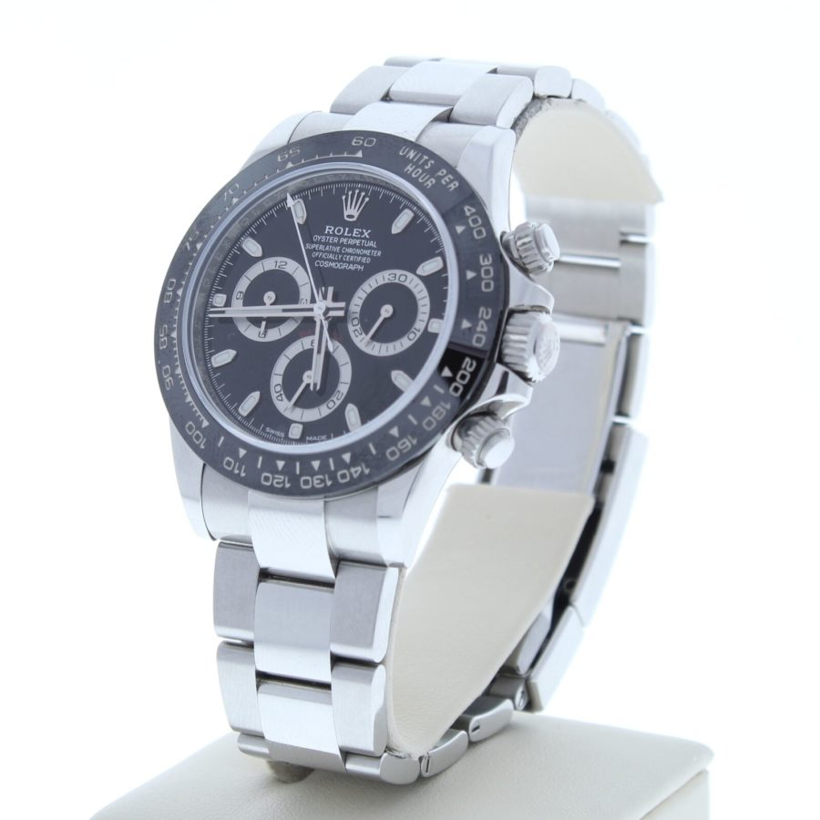Rolex Daytona Ceramic Bezel Stainless Steel Black Dial 116500LN 40mm - Copy