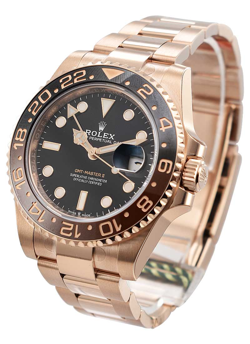 Rolex GMT-Master II 40mm Everose Gold 126715CHNR - Fake