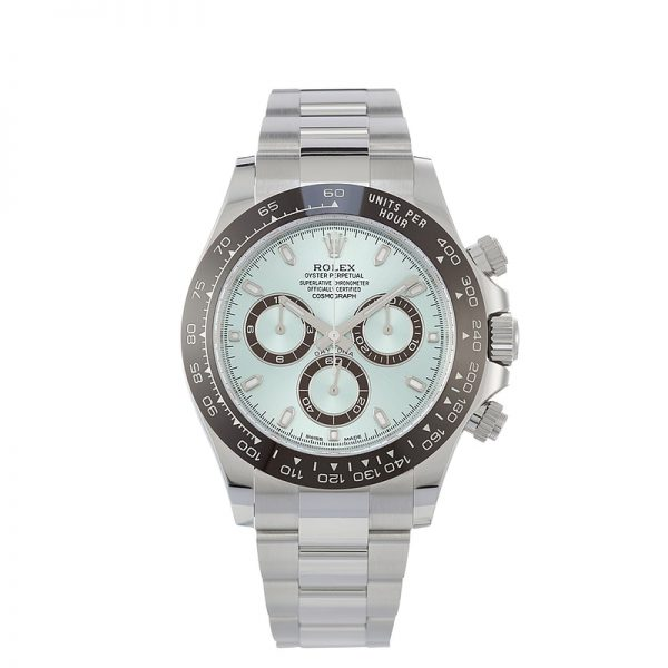 Rolex Cosmograph Daytona, Ice Blue Dial, Brown Ceramic Bezel 40mm - Replica