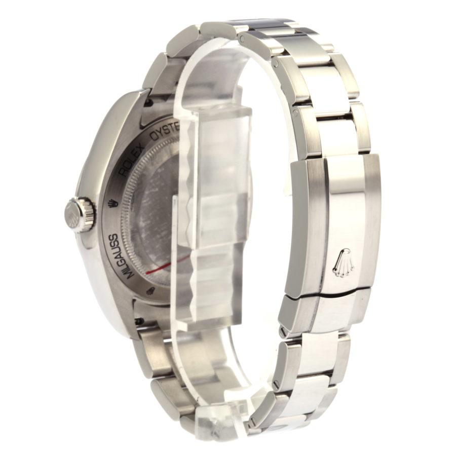 Rolex Milgauss Watch blue, dial green sapphire 40mm - Copy