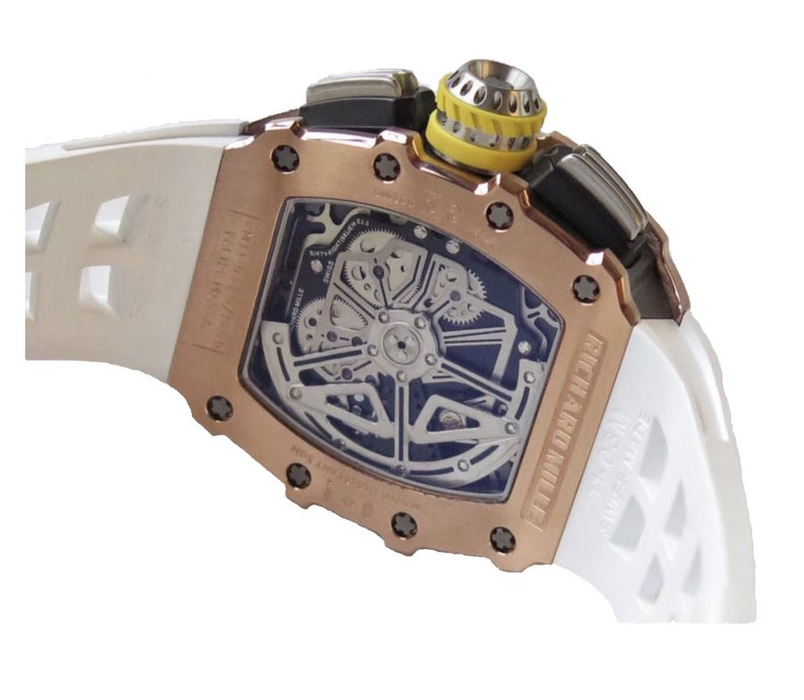 Richard Mille RM11-03 Rose Gold Flyback Chronograph-looklike
