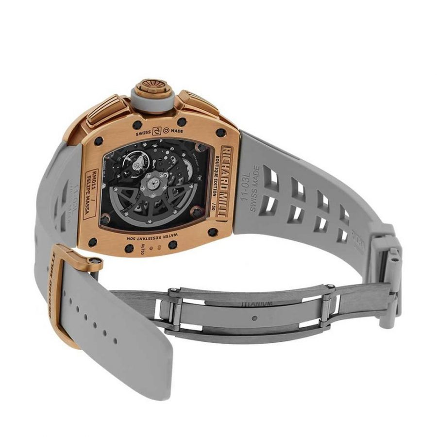 Richard Mille RM11-03 Rose Gold Flyback Chronograph-replica