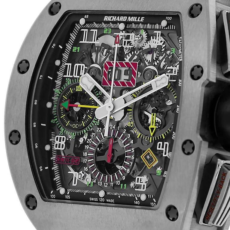 Richard Mille RM011 Felipe Massa Americas 5 Titanium Grade-replica