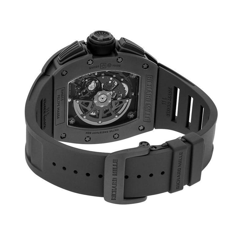 Richard Mille RM011 Felipe Massa Titanium Flyback Chronograph Watch-replica