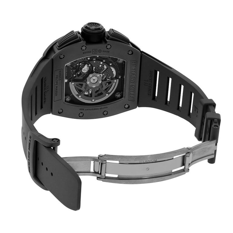 Richard Mille RM011 Felipe Massa Titanium Flyback Chronograph Watch-looklike