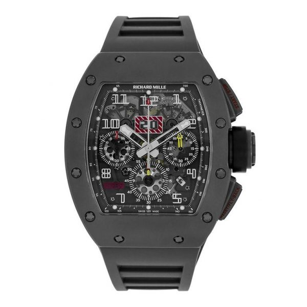 Richard Mille RM011 Felipe Massa Titanium Flyback Chronograph Watch-replica