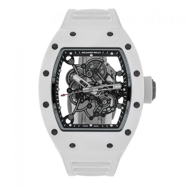Richard Mille RM055 Bubba Watson White Ceramic Watch-replica