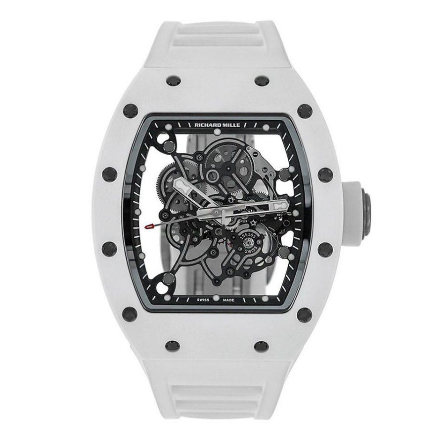 Richard Mille RM055 Bubba Watson White Ceramic Watch-replica