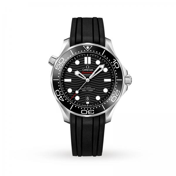 Omega Seamaster Diver 300m Co-axial Master Chronometer Black 42mm-copy