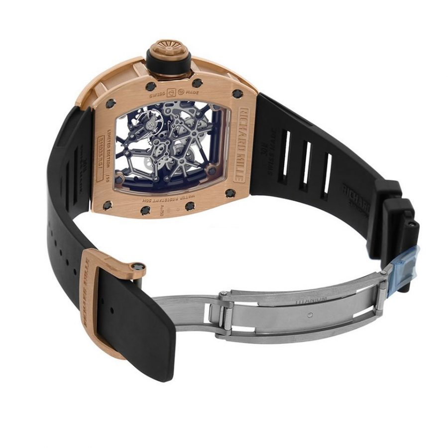 Richard Mille RM035 Toro Americas Edition Rose Gold - 48MM-replica