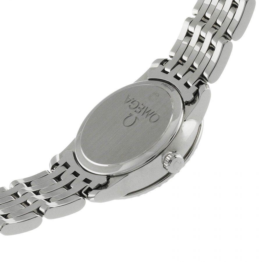 Omega De Ville Prestige Quartz Ladies Watch Silver 24.4mm-swiss