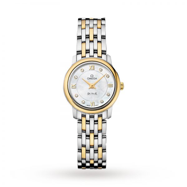 Omega De Ville Prestige Quartz Ladies Watch 24.4mm-replica