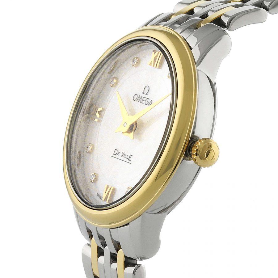 Omega De Ville Prestige Quartz Ladies Watch 24.4mm-swiss copy