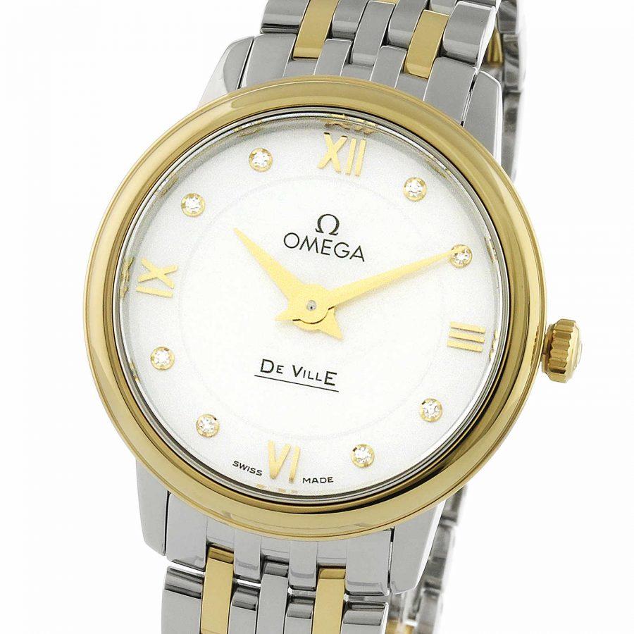 Omega De Ville Prestige Quartz Ladies Watch 24.4mm-replcia