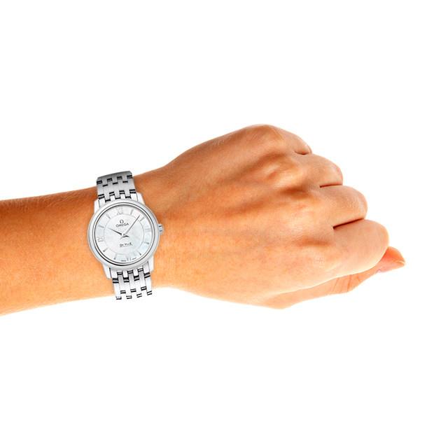 Omega De Ville Prestige Quartz Ladies Watch Silver 24.4mm-fake