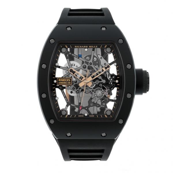 Richard Mille RM 035 Rafael Nadal Limited Black Toro-replica