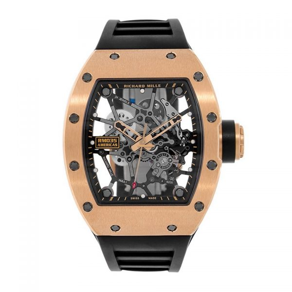 Richard Mille RM035 Toro Americas Edition Rose Gold-replica