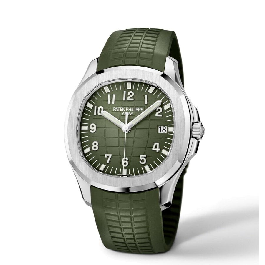 Patek Philippe Aquanaut Jumbo 5168G Khaki Green-fake