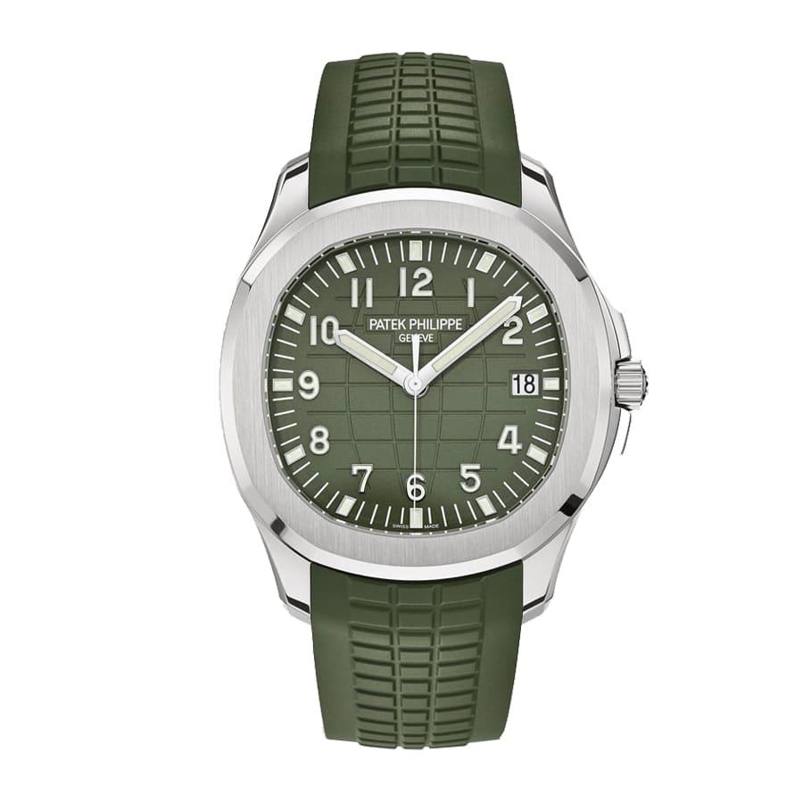 Patek Philippe Aquanaut Jumbo 5168G Khaki Green-Replica