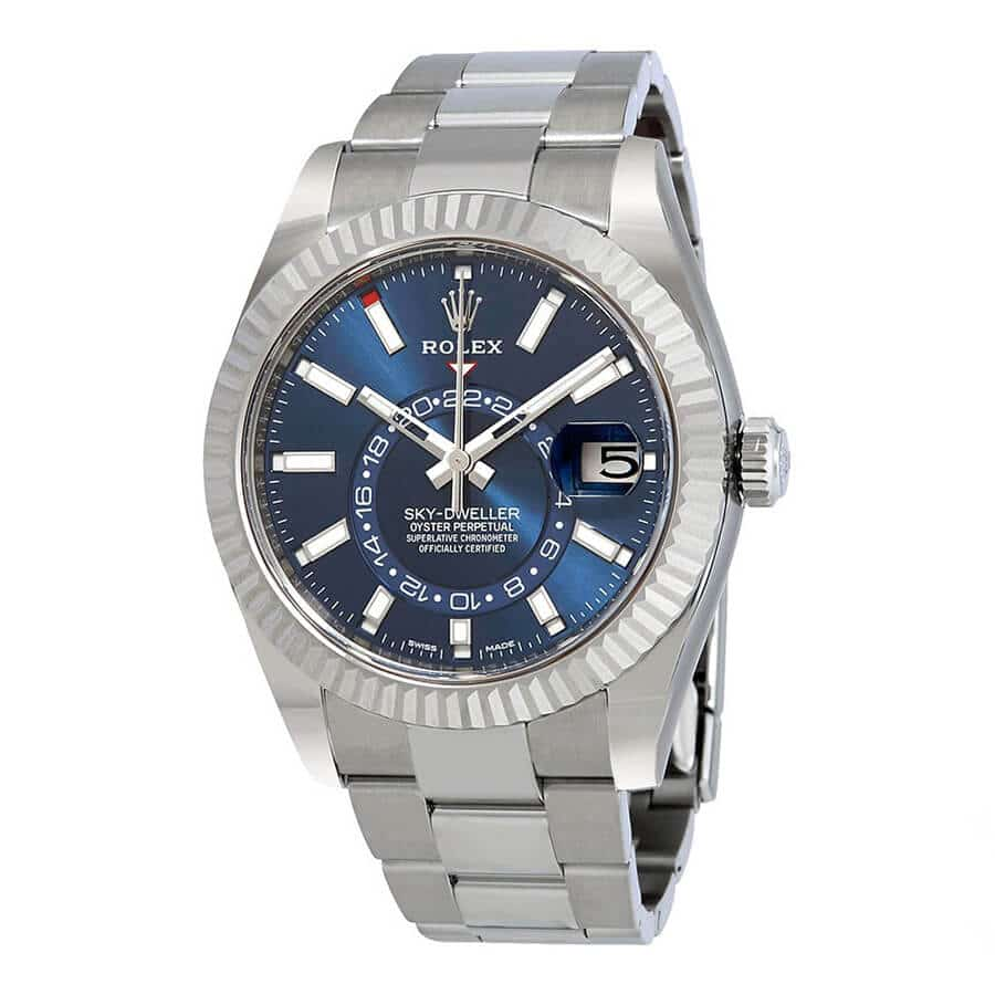 Rolex Sky-Dweller 42mm Blue Dial Stainless Steel 326934-fake