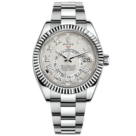 Rolex Sky-Dweller Automatic Men's Oyster Watch 326934WSO-replica