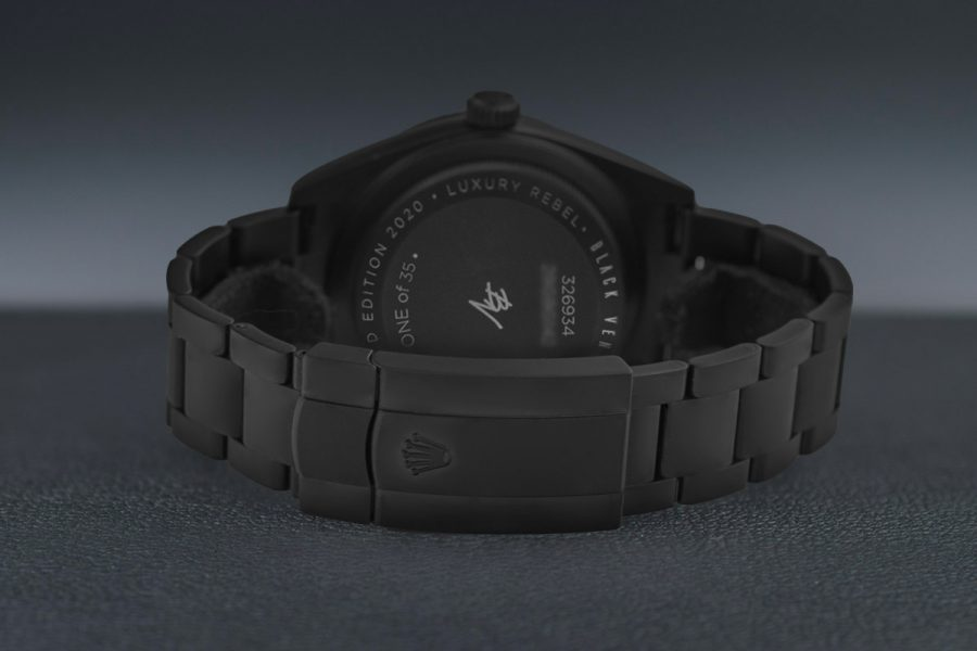 Rolex Sky-Dweller 42mm Black Venom Steel DLC 326934-copy