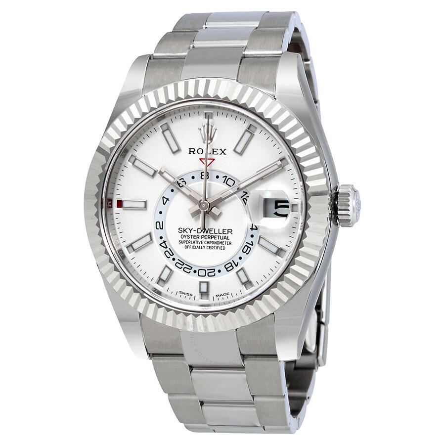 Rolex Sky-Dweller Automatic Men's Oyster Watch 326934WSO-fake