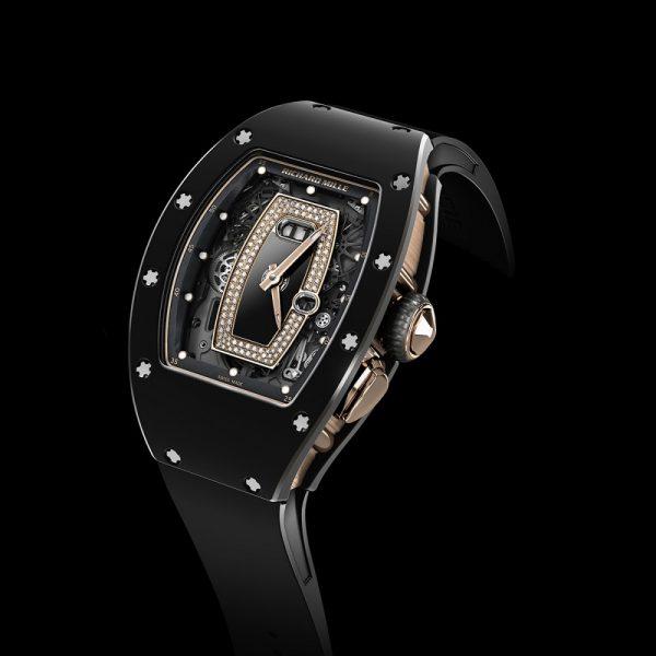 Richard Mille RM037 Replica Lady Watch Black-replica